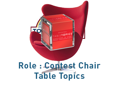 Role Chair Table Topics